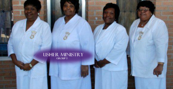 Usher Ministry (group 2)
