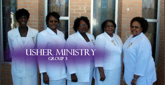 Usher Ministry (group 3)