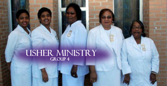 Usher Ministry (group 4)